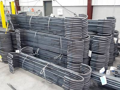 PVC Coated or Galvanized Type Rebar Tie Wire Has A Wide Application